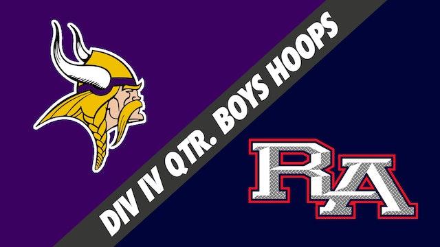 Div IV Quarterfinals Boys Basketball: Opelousas Catholic vs Riverside