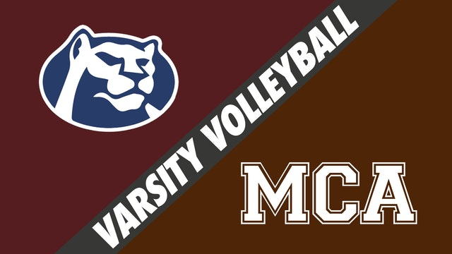 Varsity Volleyball: St. Thomas More vs Mount Carmel
