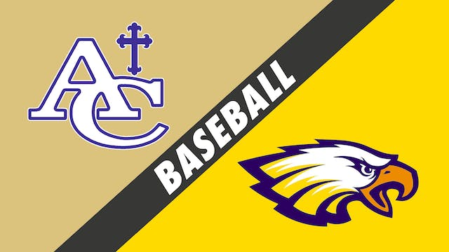 Baseball: Ascension Catholic vs St. John
