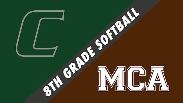 8th Grade Softball: Chapelle vs Mount Carmel