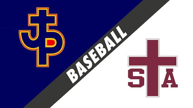 Baseball: Pope John Paul vs St. Thoma...