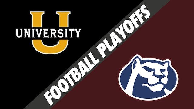 Football Playoffs: University Lab vs St. Thomas More