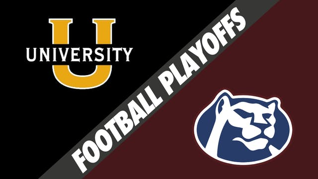 Football Playoffs: University Lab vs ...