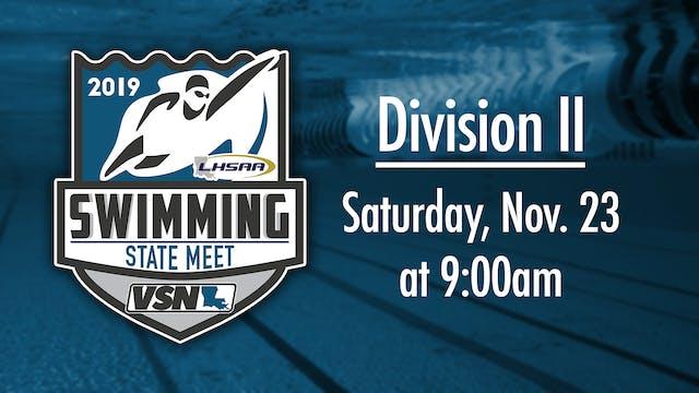 LHSAA Div II Swimming State Championship