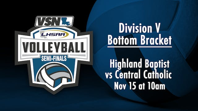 Div V Volleyball Semifinals: Highland...