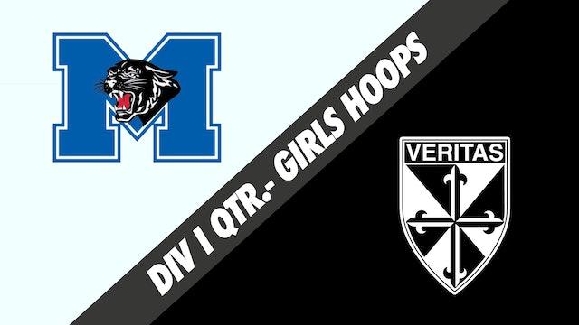 Girls Basketball Div I Quarterfinals: McKinley vs Dominican