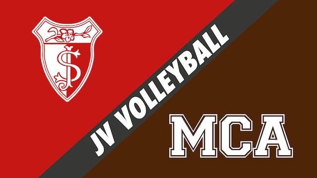 JV Volleyball: St. Joseph's vs Mount ...