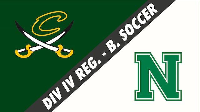 Boys Soccer: Calvary Baptist vs Newman