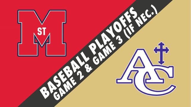 Baseball Playoffs- Game 2: St. Martin...