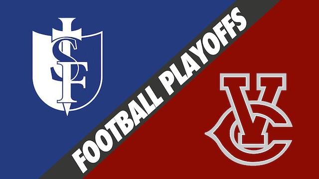 Football Playoffs: St. Frederick's vs Vermilion Catholic