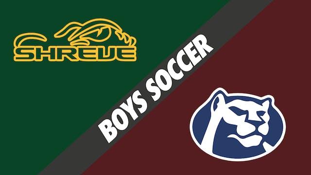 Boys Soccer: Captain Shreve vs St. Th...