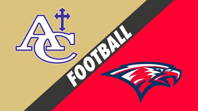 Football: Ascension Catholic vs Centr...