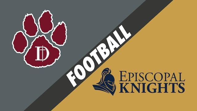Football: Dunham vs Episcopal School of Baton Rouge