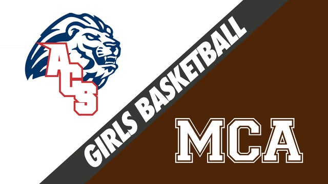 Girls Basketball: Anchorage Christian vs Mt. Carmel