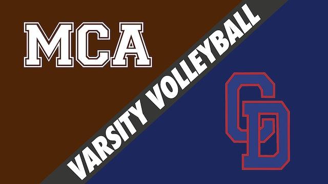 Varsity Volleyball: Mount Carmel vs Country Day