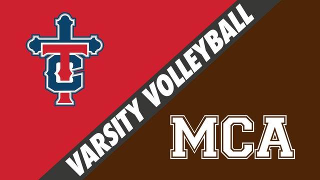 Varsity Volleyball: Teurlings Catholic vs Mount Carmel