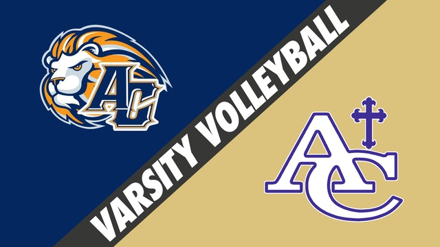 Varsity Volleyball: Ascension Christian vs Ascension Catholic