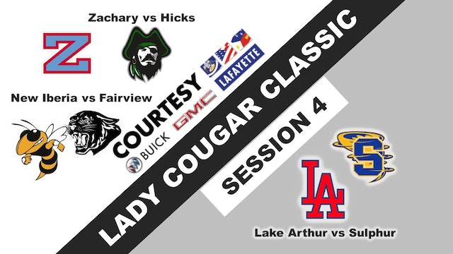 Lady Cougar Classic: Session 4
