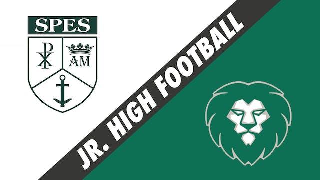 Jr. High Football: St. Pius vs Sts. L...