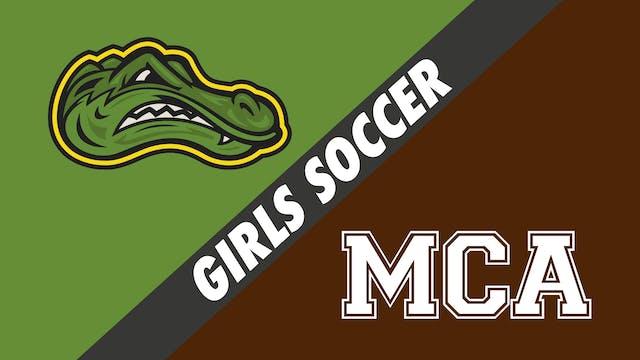 Girls Soccer: St. Amant vs Mount Carmel