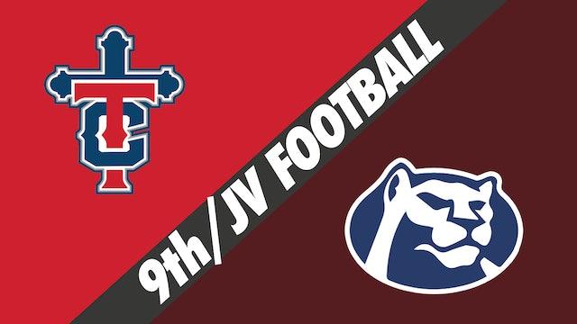 9th Grade/JV Football: Teurlings Catholic vs St. Thomas More