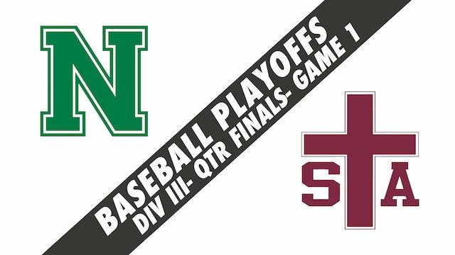 Baseball Playoffs- Game 1: Newman vs St. Thomas Aquinas