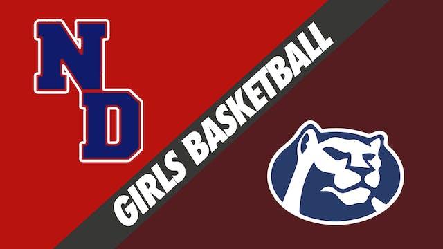 Freshman Girls Basketball:  Notre Dam...