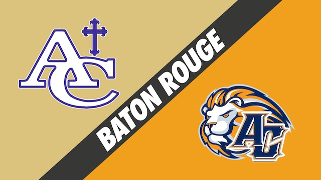 Baton Rouge: Ascension Catholic vs Ascension Christian