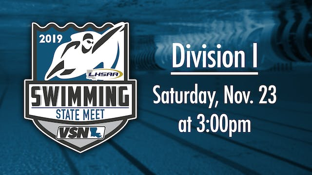 LHSAA Div I Swimming State Championship