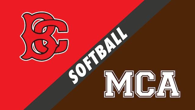 Softball: Belle Chasse vs Mount Carmel