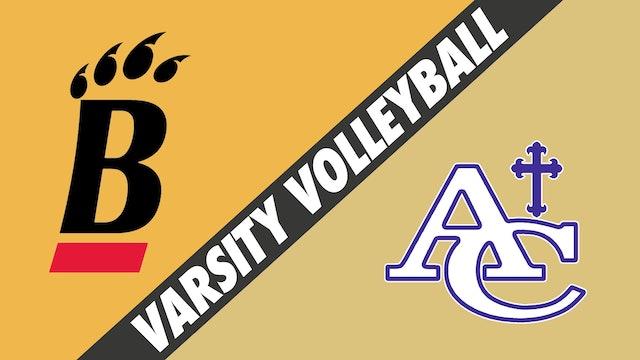 Varsity Volleyball: Brusly vs Ascension Catholic