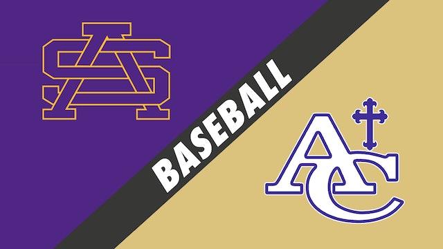 Baseball: St. Augustine vs Ascension Catholic