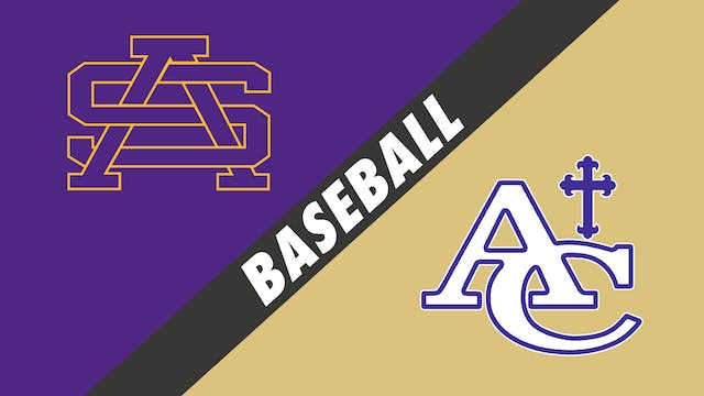 Baseball: St. Augustine vs Ascension ...