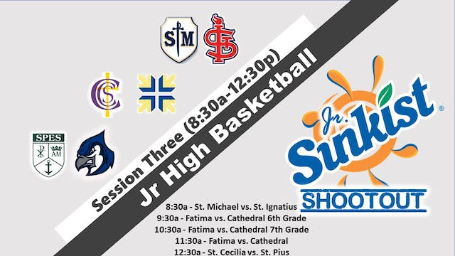 Jr. Sunkist Shootout: Session 3