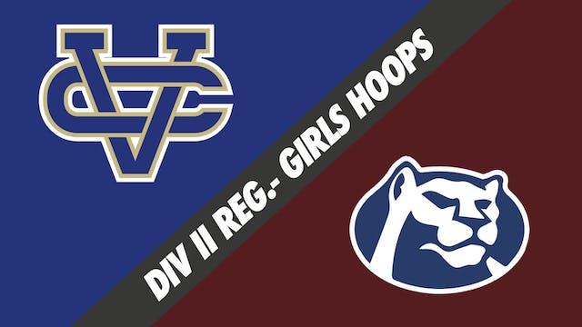 Div II Regionals- Girls Basketball: V...