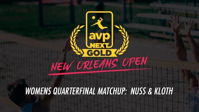 AVPNext Gold Womens Quarterfinal: Nus...