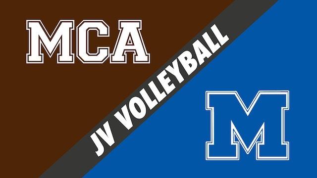 JV Volleyball: Mount Carmel vs Mandeville