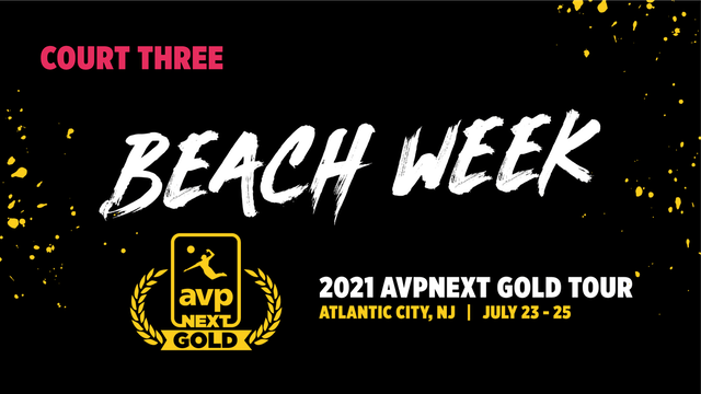 AVPNext Gold Tournament: Court Three- Sunday