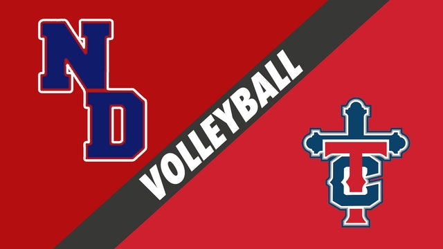 Volleyball: Notre Dame vs Teurlings Catholic