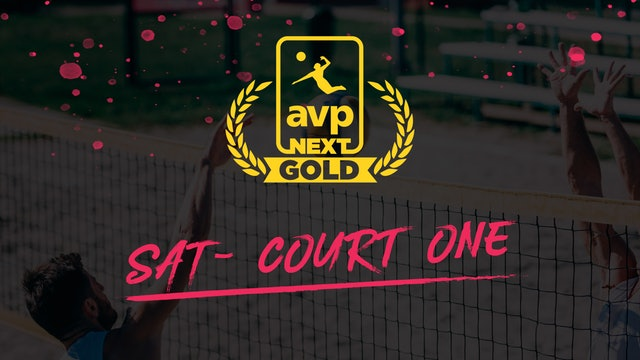 AVPNext Gold Tournament: Court One- Saturday