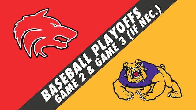 Baseball Playoffs- Game 2: Loranger v...