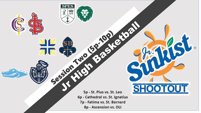 Jr. Sunkist Shootout: Session 2