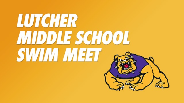 Lutcher Middle School Swim Meet