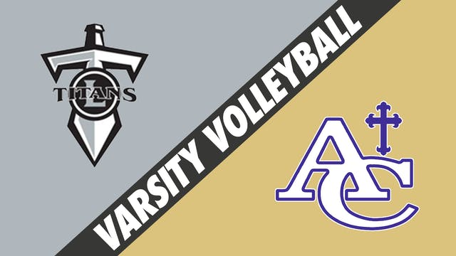 Varsity Volleyball: Lakeshore vs Asce...