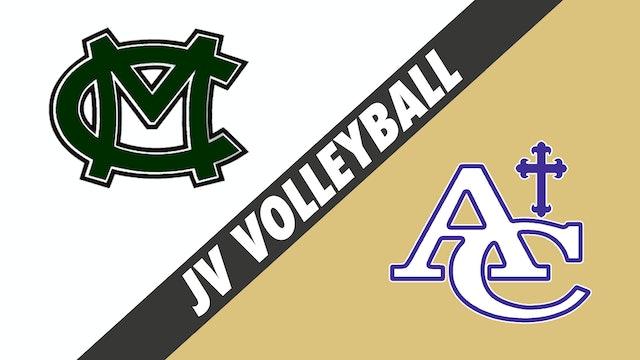 JV Volleyball: Morgan City vs Ascension Catholic