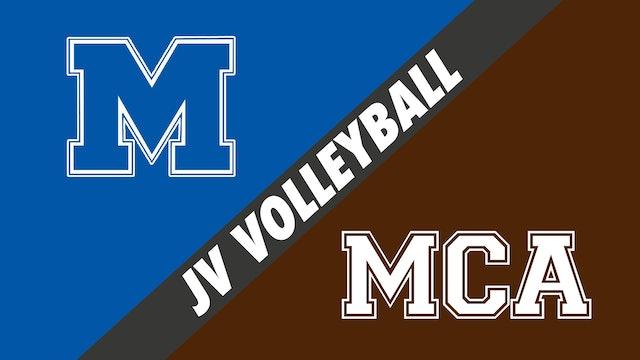 JV Volleyball: Mandeville vs Mount Carmel