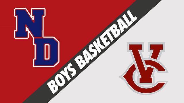 Boys Basketball: Notre Dame vs Vermil...