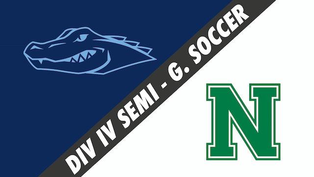 Div IV Semifinals- Girls Soccer: Ascension Episcopal vs Newman