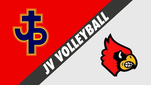 JV Volleyball: Pope John Paul vs Sacr...