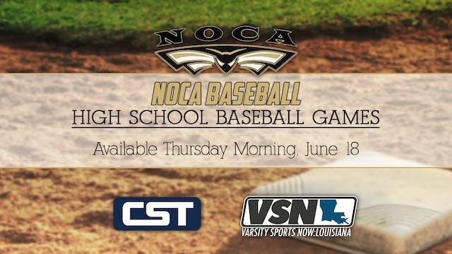 NOCA Baseball: Game 2